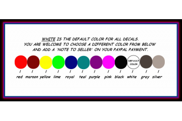 Color Options white, black, silver, dark gray, pink, yellow, lime green, gold