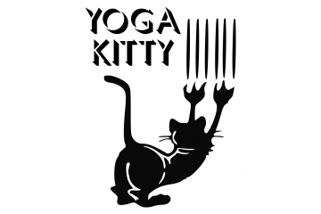 Cat Lovers decal - Yoga Kitty